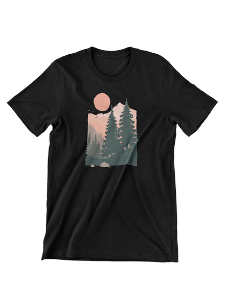 VIRGIN TEEZ T-SHIRT Twin Pines T-Shirt