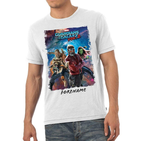 Virgin Teez T-Shirts Marvel Guardians of the Galaxy Group Mens T-Shirt
