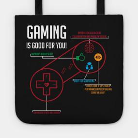 Virgin Teez tote bag Gaming Tote Bag