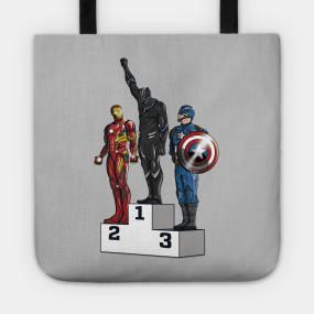 Virgin Teez tote bag PANTHER POWER Tote Bag