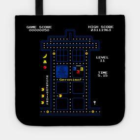 Virgin Teez tote bag WAGA VWORP Game Tote Bag