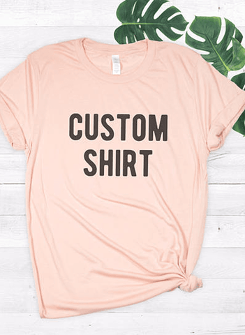 Virgin Teez Women Design your own T-shirt | Custom T-Shirt | T-Shirt Printing Online