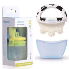 "Kidsme ""Special Offer Bundle"" - Food Feeder & Icy Moo Moo Teether"