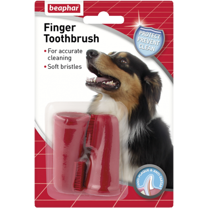 <b>10% OFF:</b> Beaphar Finger Toothbrush