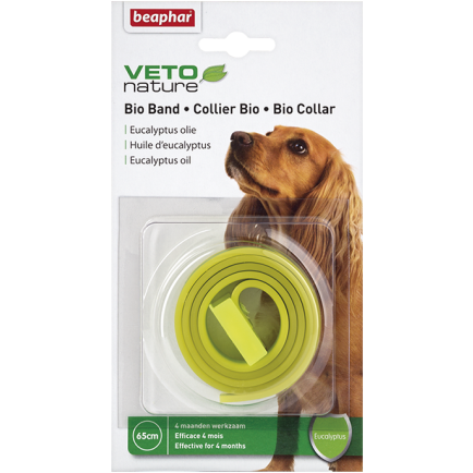 <b>15% OFF:</b> Beaphar Flea & Tick Collar Eucalyptus Bio Yellow/Green For Dogs