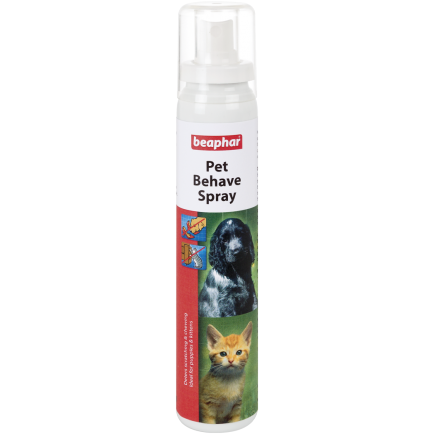 <b>10% OFF:</b> Beaphar Pet Behave Spray For Dogs & Cats