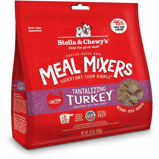 Stella & Chewy's Freeze-Dried Raw Tantalizing Turkey Meal Mixers For Dogs