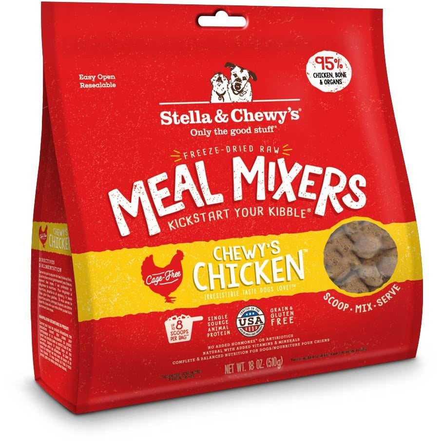 Stella & Chewy's Freeze-Dried Raw Chicken Meal Mixers For Dogs