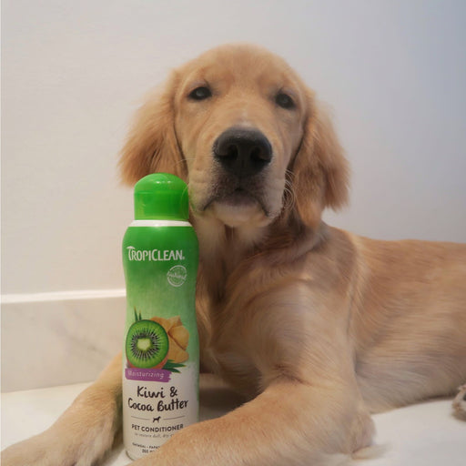 <b>15% OFF:</b> TropiClean Kiwi & Cocoa Butter Moisturizing Pet Conditioner