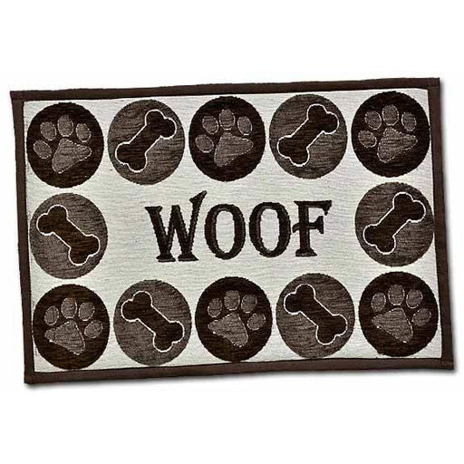 Loving Pets Woof Chenille Bella Fashion Mat