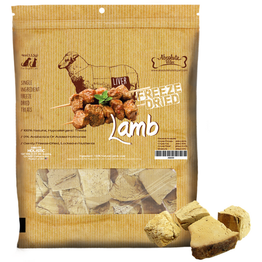 Absolute Bites Freeze Dried Lamb Treats