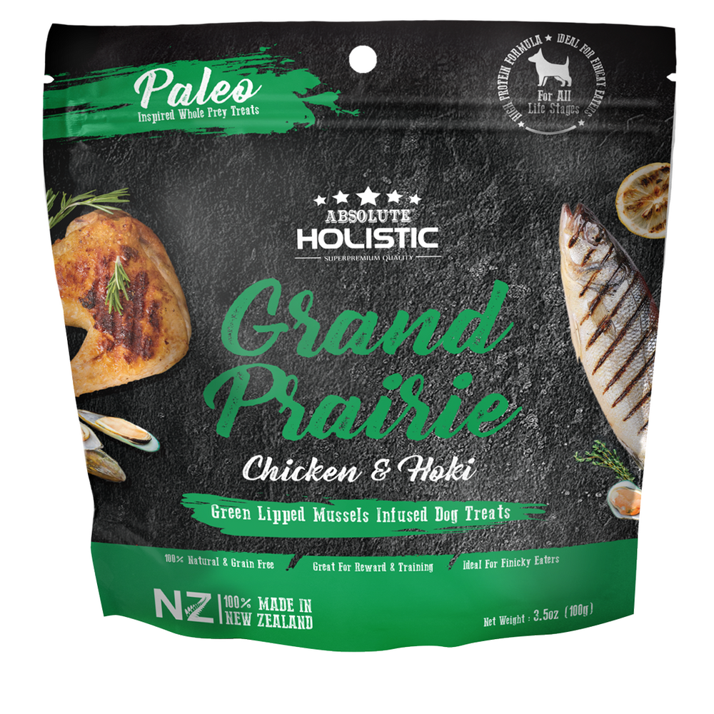Absolute Holistic Air Dried Chicken & Hoki Dog Treats