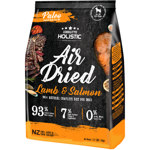 Absolute Holistic Air Dried Lamb & Salmon Dry Dog Food