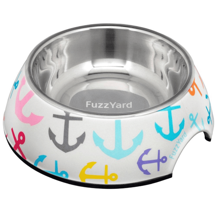 <b>15% OFF:</b> FuzzYard Ahoy! Easy Feeder Bowl