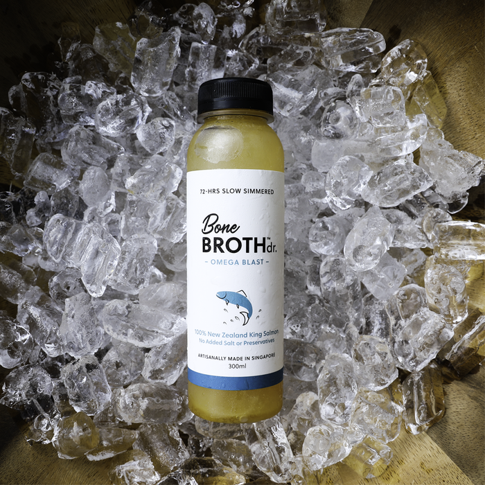 (FROZEN) Bone Broth Dr. 100% New Zealand King Salmon