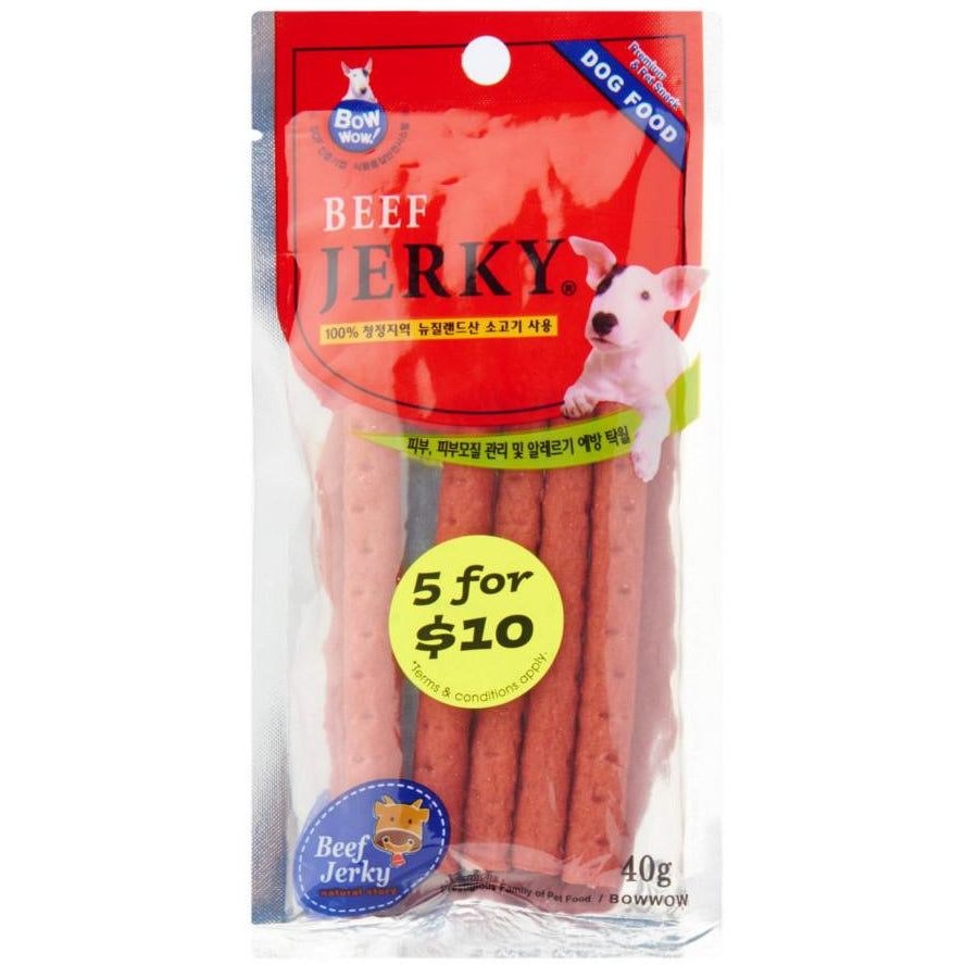 <b>5 FOR $10: </b> Bow Wow Beef Jerky