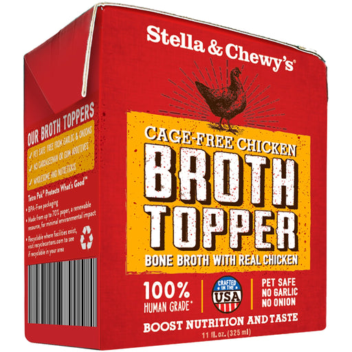 Stella & Chewy's Grain Free Chicken Broth Topper