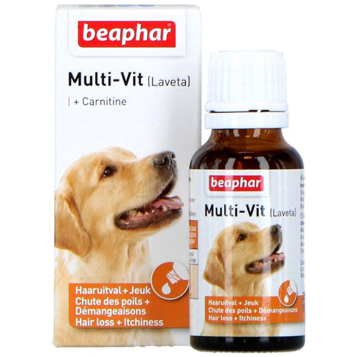 <b>10% OFF:</b> Beaphar Multi Vitamin Liquid Laveta Carnitine For Dog
