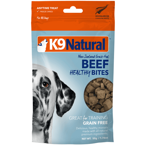 <b>20% OFF:</b> K9 Natural Freeze Dried Beef Healthy Bites