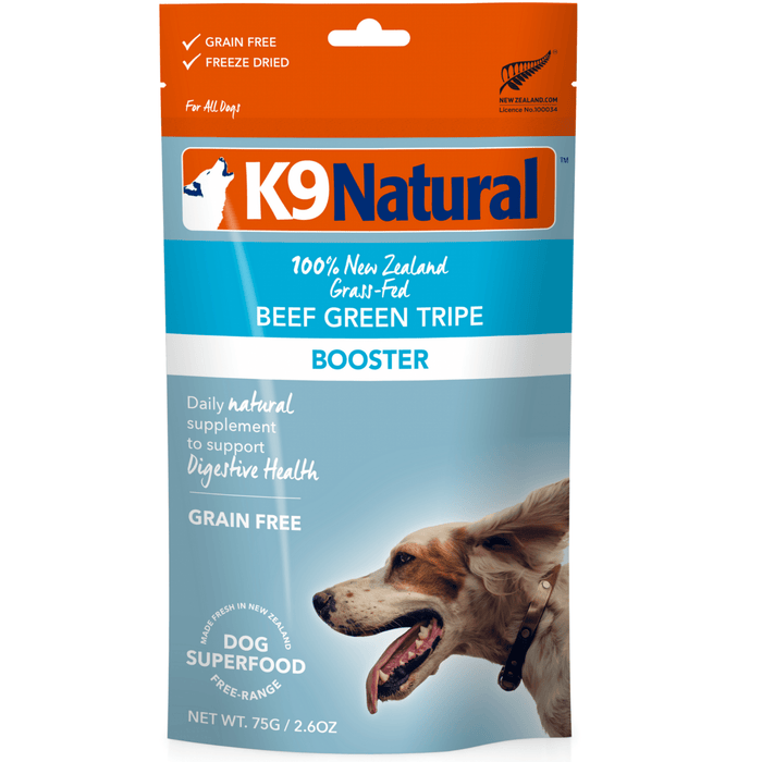 <b>20% OFF:</b> K9 Natural Freeze Dried Raw Beef Tripe Booster Feast