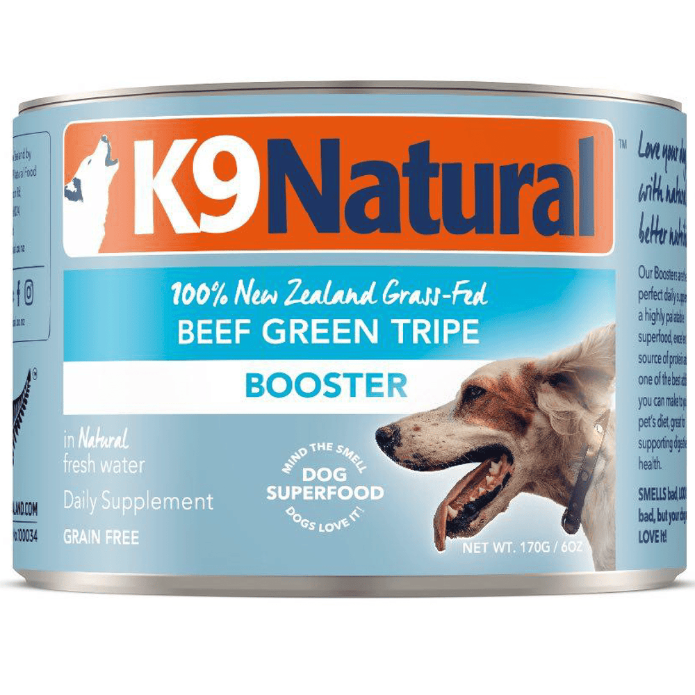 K9 Natural Grain Free Beef Green Tripe Booster Wet Dog Food
