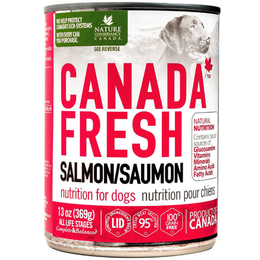 <b>10% OFF:</b> Canada Fresh Grain Free Salmon Formula Wet Dog Food