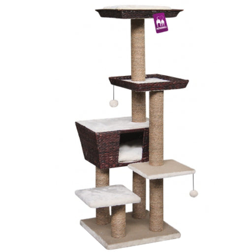 <b>15% OFF:</b> PetRebels Caribbean Love 141 Brown Cat Tree