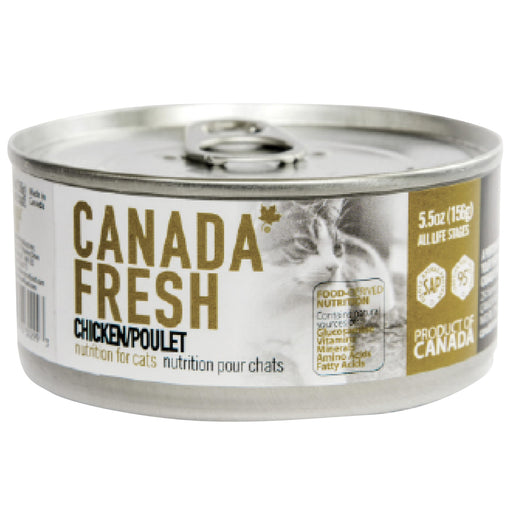 <b>10% OFF:</b> Canada Fresh Grain Free Chicken Formula Wet Cat Food