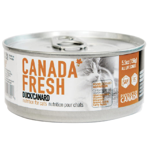 <b>10% OFF:</b> Canada Fresh Grain Free Duck Formula Wet Cat Food