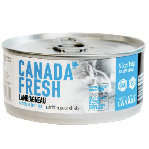 <b>10% OFF:</b> Canada Fresh Grain Free Lamb Formula Wet Cat Food