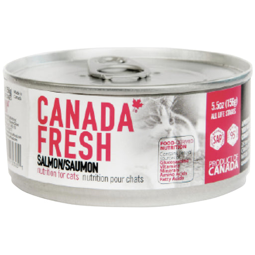 <b>10% OFF:</b> Canada Fresh Grain Free Salmon Formula Wet Cat Food