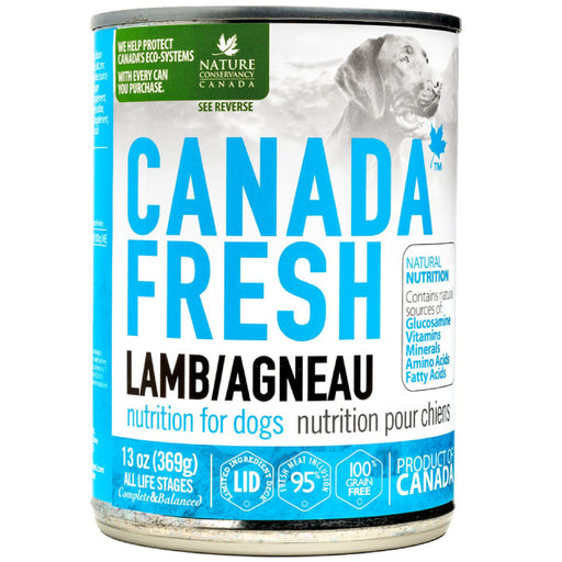 <b>10% OFF:</b> Canada Fresh Grain Free Lamb Formula Wet Dog Food