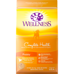<b>FREE TREATS: </b> Wellness Complete Health Deboned Chicken, Oatmeal & Salmon Meal Just For Puppy Dry Dog Food
