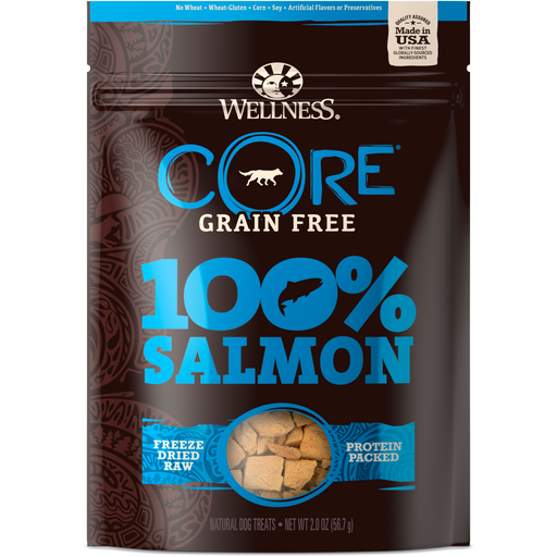 <b>20% OFF:</b> Wellness CORE Grain Free 100% Salmon Freeze Dried Dog Treats