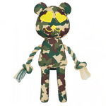 Lovelly Creations Camouflage Series - Green Dog Toy
