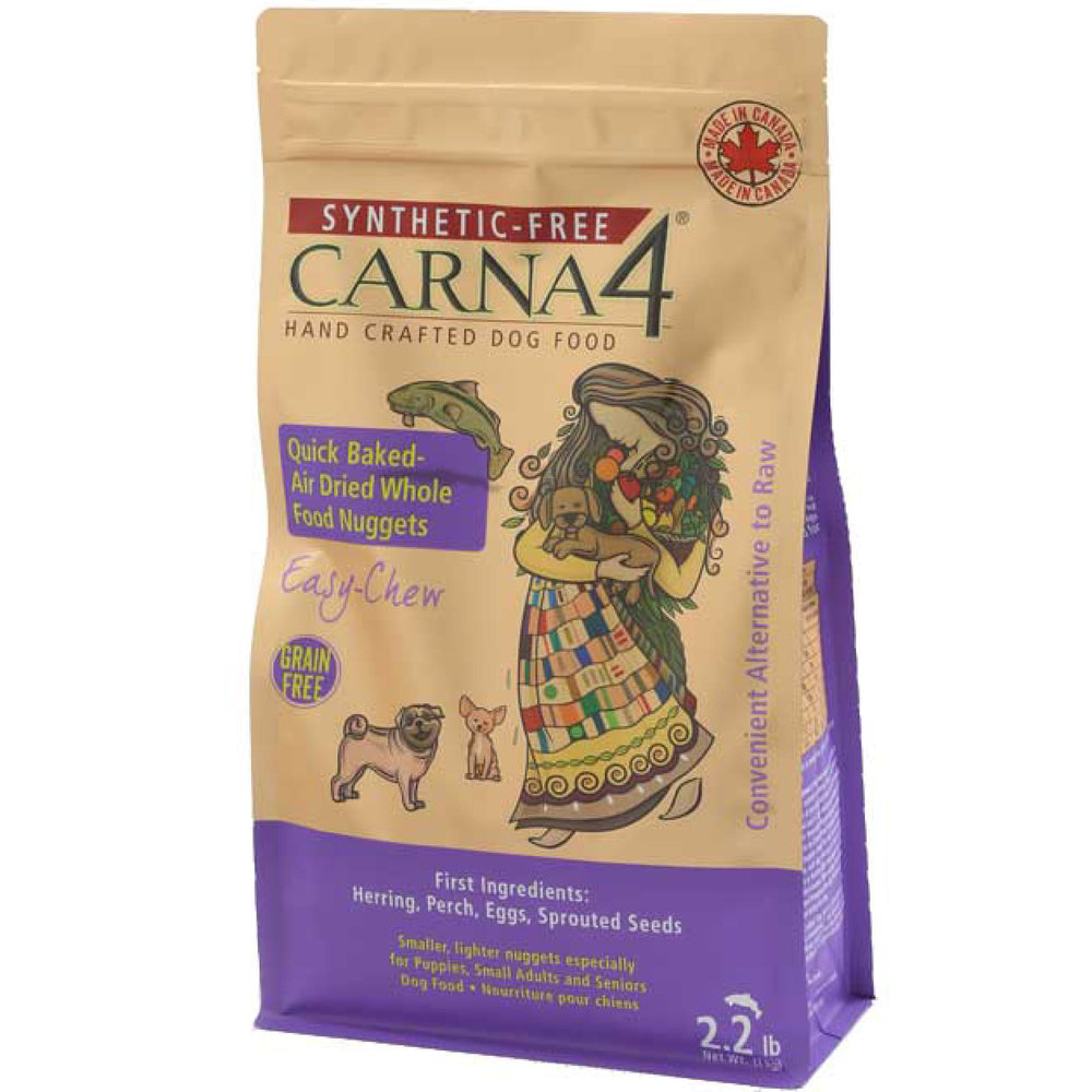<b>20% OFF:</b> Carna4 Grain Free Quick Baked Air Dried Easy Chew Fish Nuggets Dry Dog Food