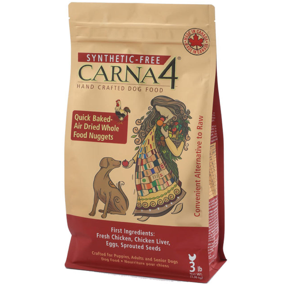 <b>20% OFF:</b> Carna4 Quick Baked Air Dried Chicken Nuggets Dry Dog Food