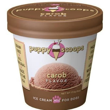 Puppy Cake Puppy Scoops Carob Ice Cream