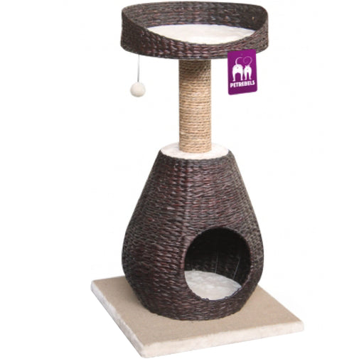 <b>15% OFF:</b> PetRebels Carribbean Beach 89 Brown Cat Tree