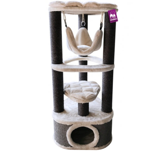 <b>15% OFF:</b> PetRebels Catharina 120 Royal Cream Cat Tree