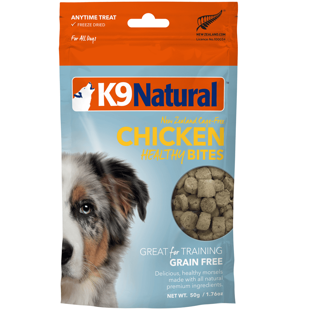 <b>20% OFF:</b> K9 Natural Freeze Dried Chicken Healthy Bites