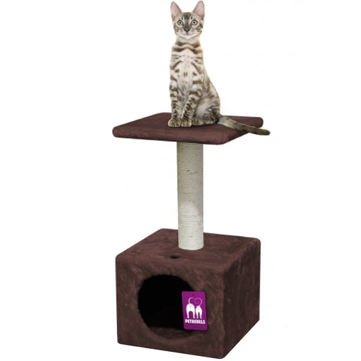 <b>15% OFF:</b> PetRebels Atlanta 60 Chocolate Brown Cat Tree