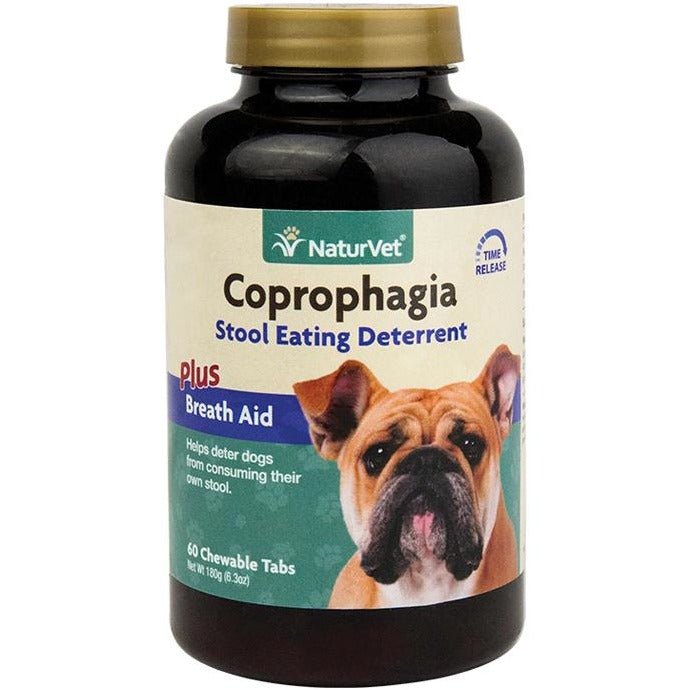 <b>20% OFF:</b> NaturVet Coprophagia Stool Eating Deterrent Chewable Tablets