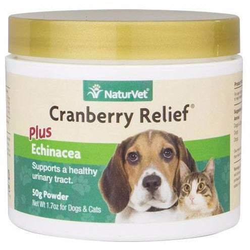 <b>20% OFF:</b> NaturVet Cranberry Relief Plus Echinacea Powder
