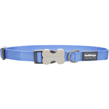 Red Dingo Classic Medium Blue Bucklebone Dog Collar