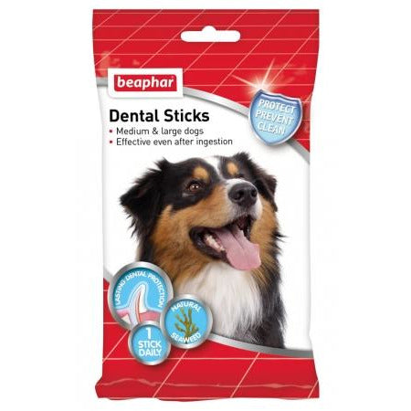 <b>10% OFF:</b> Beaphar Dental Sticks For Medium & Large Dogs