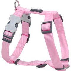 Red Dingo Classic Pink Dog Harness