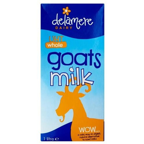 Delamere UHT Whole Goats Milk
