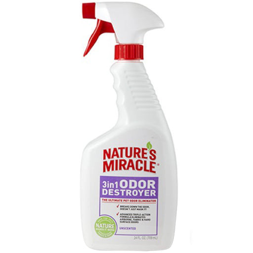 <b>10% OFF:</b> Nature's Miracle 3-In-1 Unscented Odor Destroyer Spray