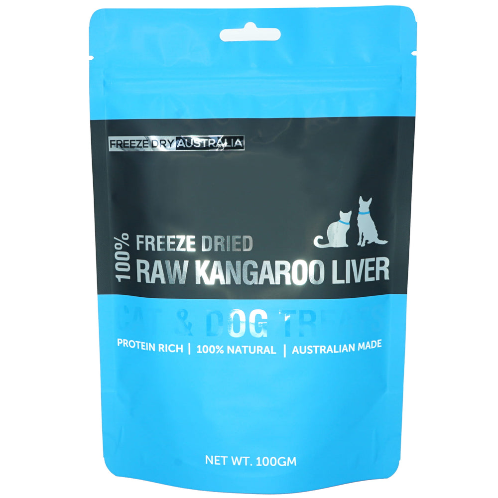Freeze Dry Australia Freeze Dried Kangaroo Liver For Dogs & Cats